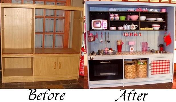 10 id es diy pour vos enfants astuces de filles - Fabriquer une cuisine en bois pour enfant ...