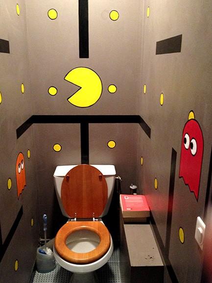 10 id es d co pour faire des toilettes une pi ce super - Decoration toilette originale ...