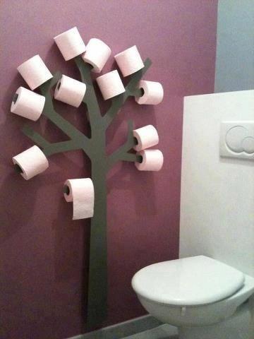 10 id es d co pour faire des toilettes une pi ce super - Astuce deco pour agrandir une piece ...