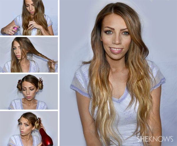 How To Do Beach Waves Pictures to pin on Pinterest