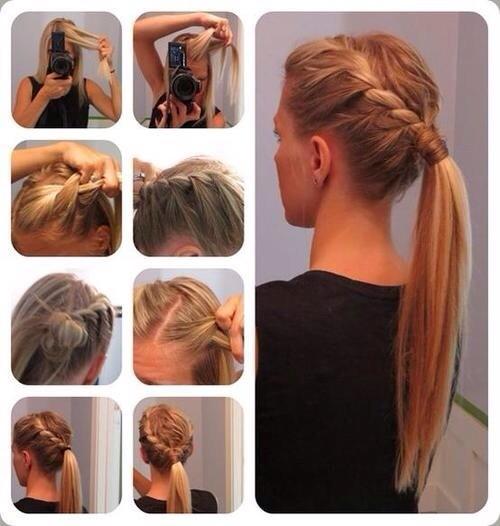 Queue De Cheval Hairstyle : ... de coiffures faciles ? faire soit m?me  Astuces de filles