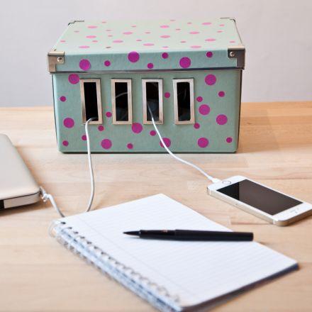 3 astuces d co pour vos c bles et prises lectrique - Comment ranger les fils electriques ...