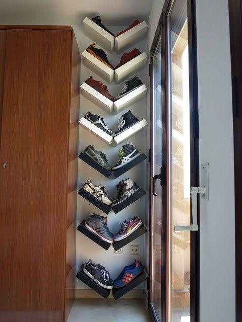 rangement chaussures compartiment