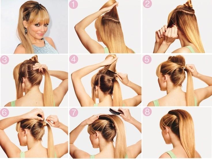 Как сделать прически на каждый день для длинных волос