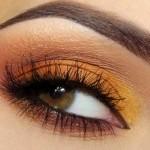 brown-eyes-orange-makeup