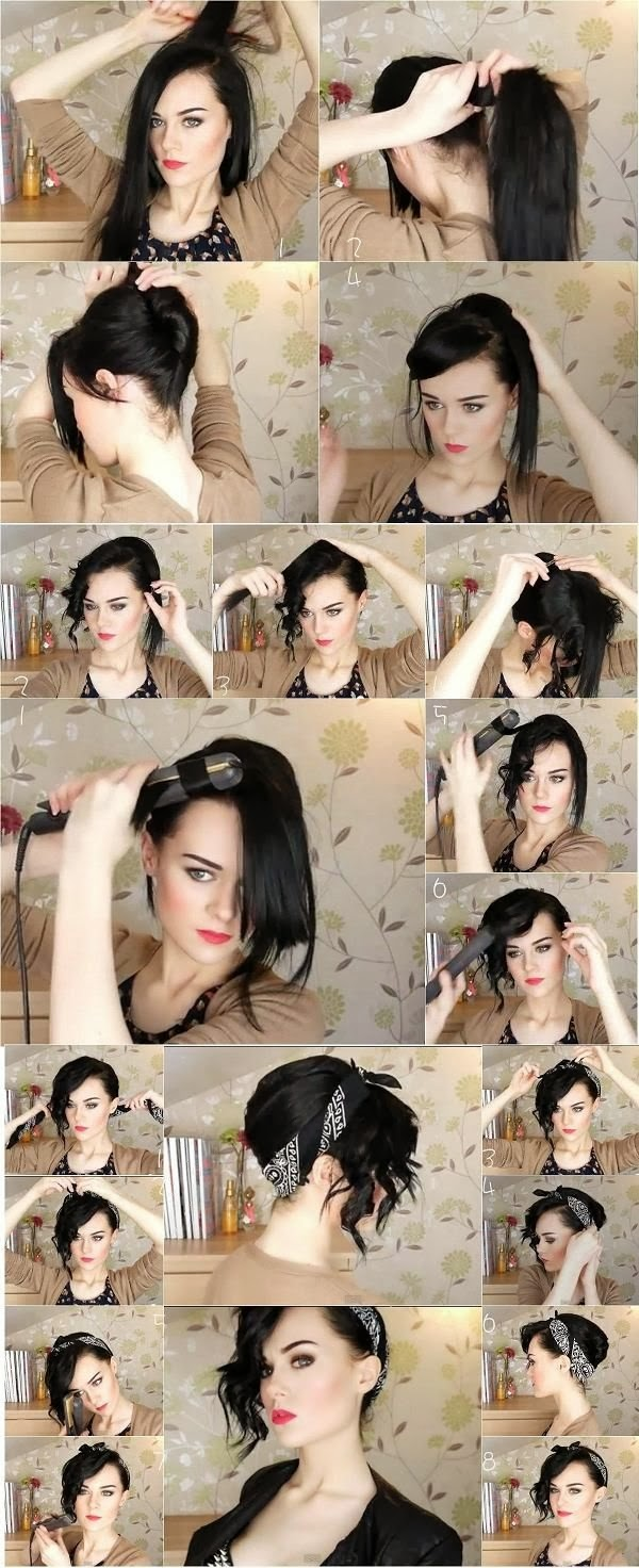 coiffure,facile, faire,seule