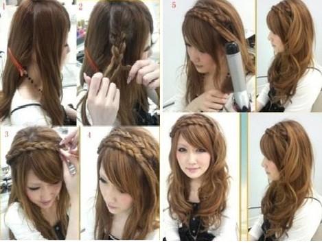 coiffure femme facile a faire
