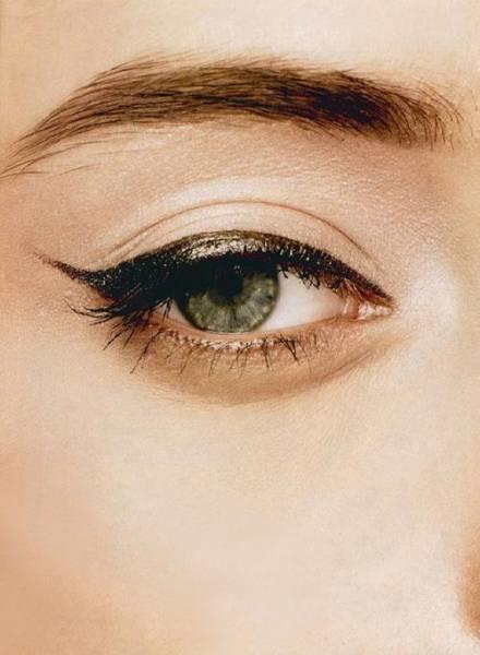 1 Maquillage métallique