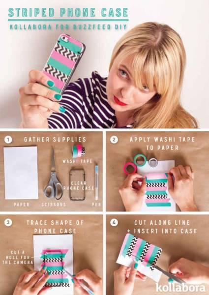 10 DIY coque téléphone