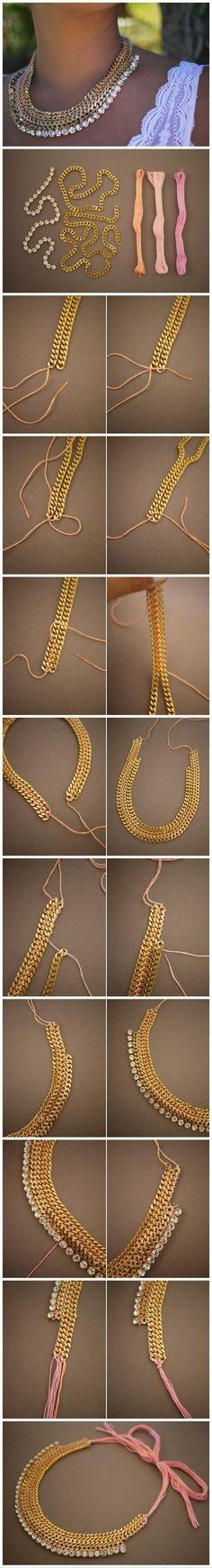 idées tops pour faire ses bijoux soi-même  Astuces de filles