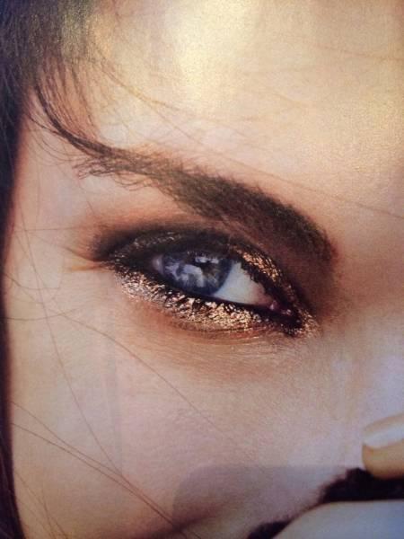 4 Maquillage métallique