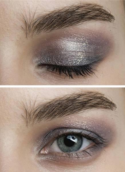 5 Maquillage métallique