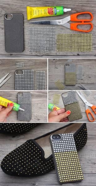7 DIY coque téléphone