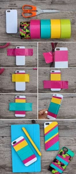 9 DIY coque téléphone