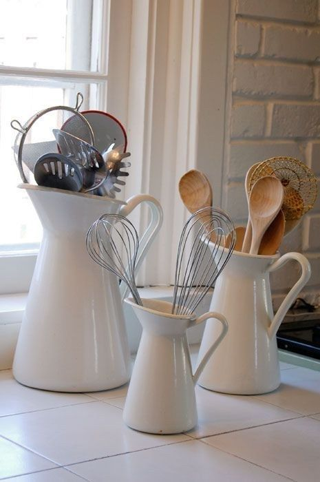 9 id es rangement et d co g niales pour votre cuisine - Ustensiles de cuisine originaux ...