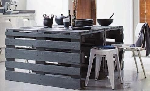 8 bonnes astuces pour organiser sa cuisine astuces de filles - Table de cuisine en palette ...