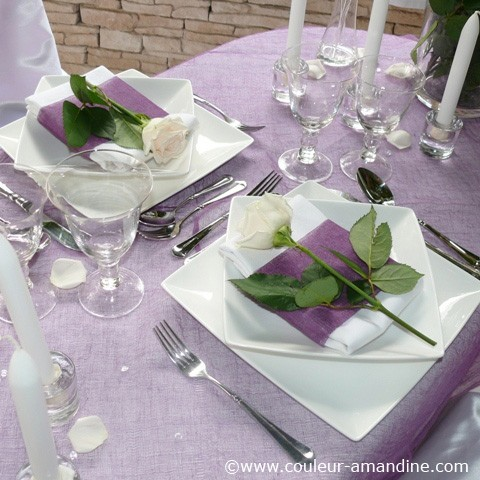 10 id es d coration de table pour un d ner en amoureux - Decoration de table idees ...