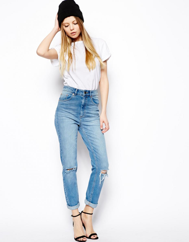 jean taille haute morphologie