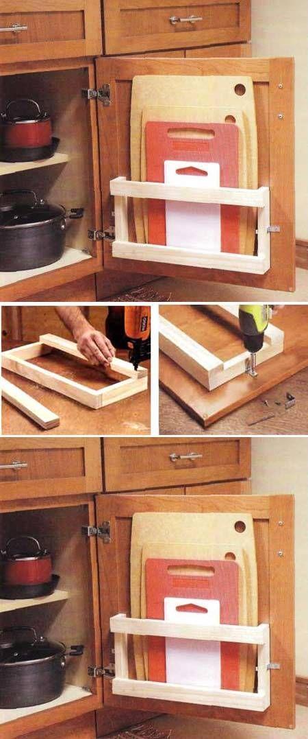 7 astuces rangements pratiques pour sa cuisine astuces - Comment ranger ses chaussures quand on a pas de place ...