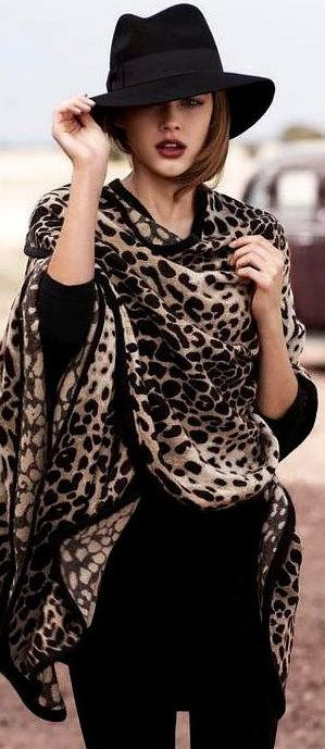 4 Imprimé léopard
