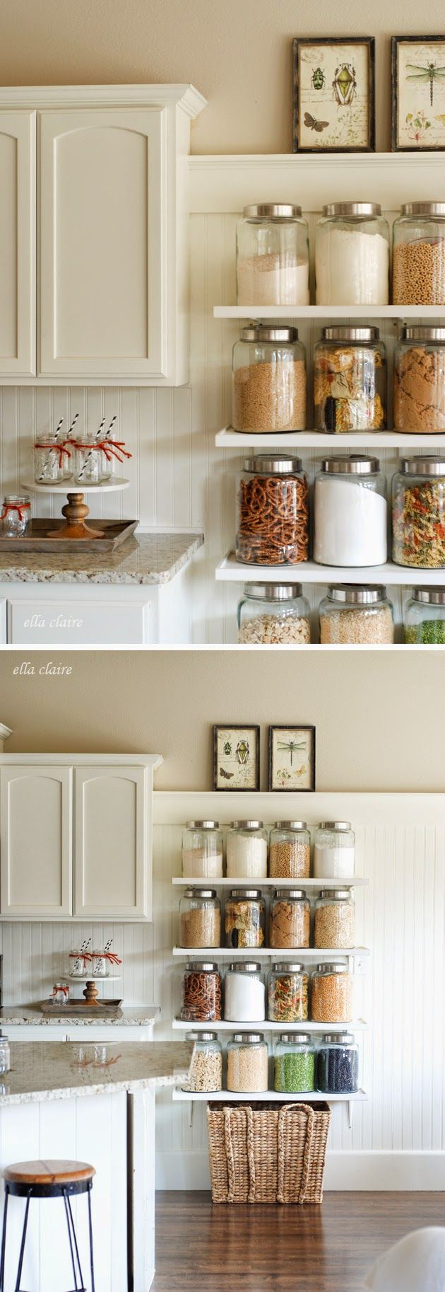 7 id es simples et efficaces pour ranger votre cuisine - Astuce rangement petite cuisine ...