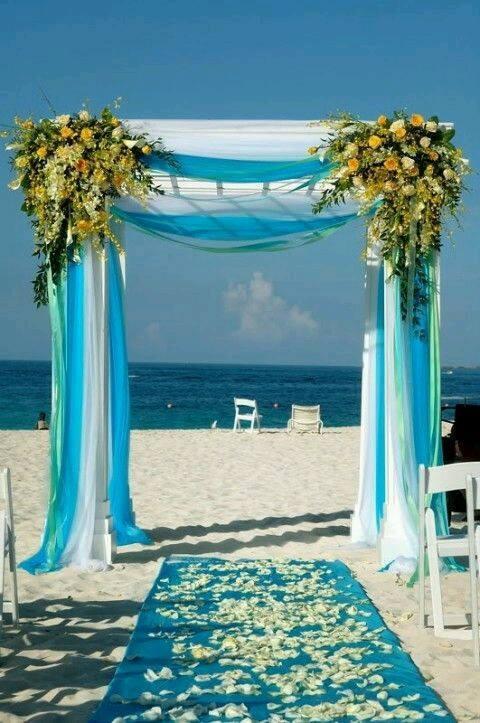 jolies décoration pour un mariage en plein air  Astuces de filles