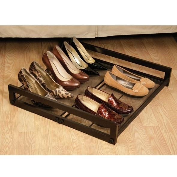 9 id es canons pour ranger vos pr cieuses chaussures - Astuce pour ranger les chaussures ...