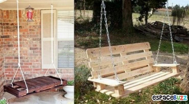 9 id es pour recycler de vieilles palettes astuces de filles - Construire une etagere en bois ...