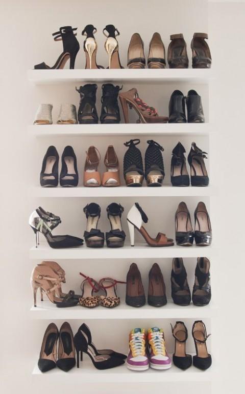 Rangement astuces de filles - Astuces pour ranger les chaussures ...