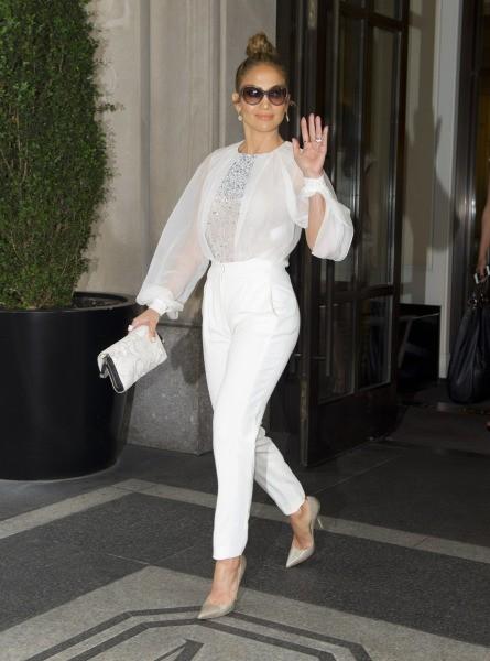 11 looks géniaux tout en blanc | Astuces de filles Eva Longoria