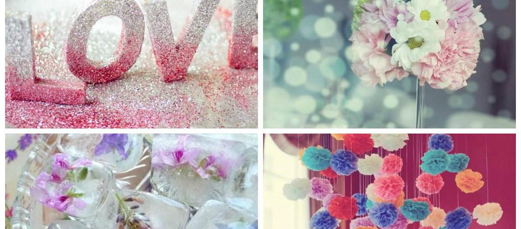 7 id es d coration diy pour un mariage astuces de filles - Decoration mariage diy ...