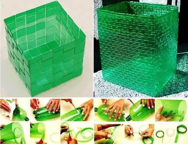 8 d cos r aliser avec des objets recycl s astuces de - Bricolage avec du plastique ...