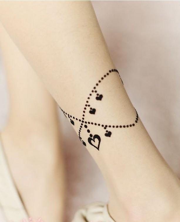 tatouage phrase bracelet cheville · image8