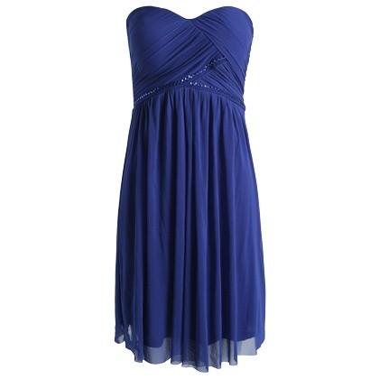 robe-bustier-bleu-fonce-esprit