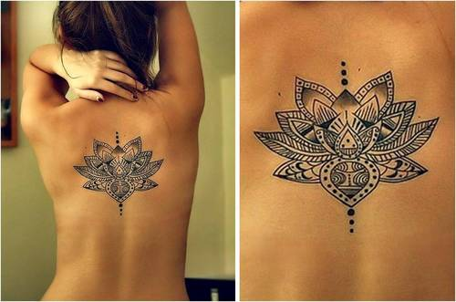 signification-tatouage-fleur-mandala (500×331) | tatoo | pinterest