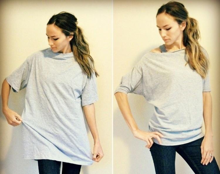 top-femme-original-manches-chauve-souris-t-shirt