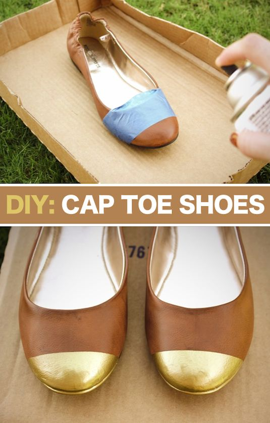 31-Clothing-Tips-Every-Girl-Should-Know-cap-toe-shoes