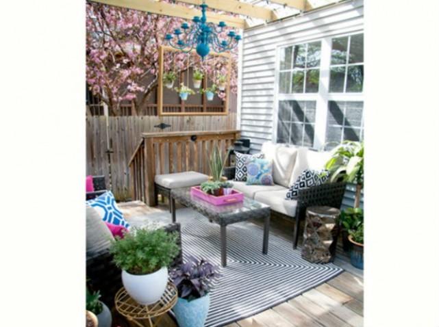 38 inspirations de déco pour votre terrasse cet été  Astuces de ...