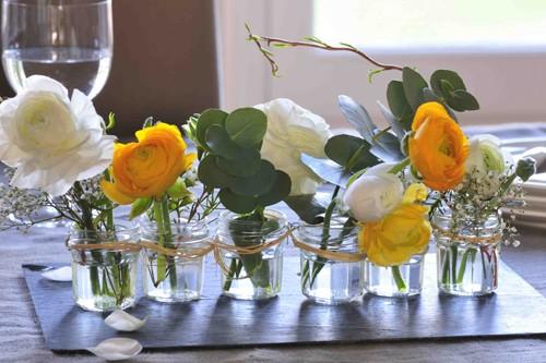 15 astuces pour faire des objets d co en r cup astuces - Centre de table noel fait maison ...