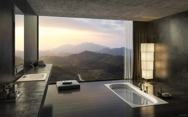 Salle De Bain grande salle de bain contemporaine : Les 50 plus belles salles de bain | Astuces de filles