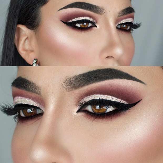 25 id es maquillage trop glamour pour briller au nouvel an - Ou trouver rangement maquillage ...